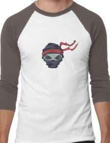 Alien Ninja Men's Baseball ¾ T-Shirt