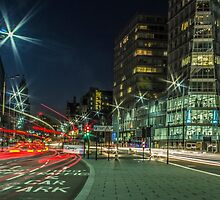 Strand Street Car Trails - Liverpool by Paul Madden