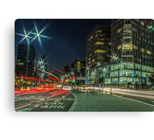 Strand Street Car Trails - Liverpool Canvas Print
