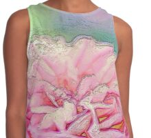 Dusky Rose - Abstract Contrast Tank