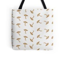 The background of trees Tote Bag