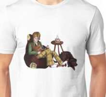Remus, Tea, Black Dog, Colour Unisex T-Shirt