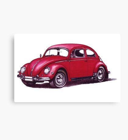 Volkswagen Beetle 1957. Canvas Print