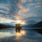 Goodnight Loch Tay, Perthshire, Scotland by Cliff Williams