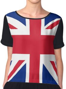 Union Jack Bedspread Chiffon Top