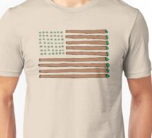 Blunted States (Green Buds) Unisex T-Shirt