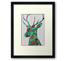 Deer One Framed Print