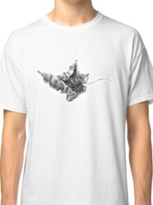 Dry Autumn Leaves Pattern Classic T-Shirt