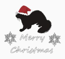 Christmas Ferret Kids Tee