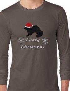 Christmas Ferret Long Sleeve T-Shirt