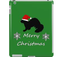 Christmas Ferret iPad Case/Skin