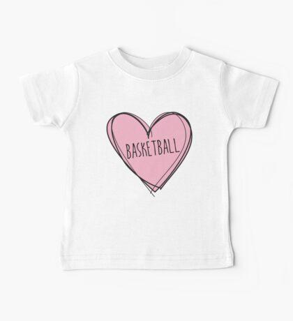Basketball Baby Tee
