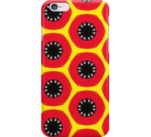 Red retro tablet case iPhone Case/Skin