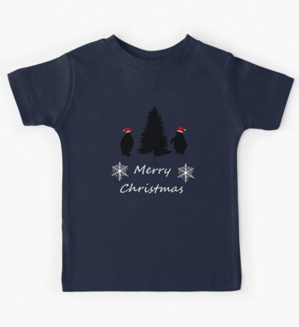 Christmas Penguins Kids Tee