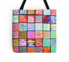Collection Of Inspiration - Square Tote Bag