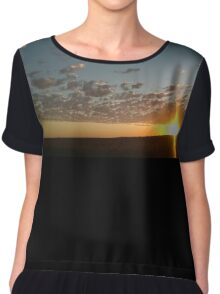 Sunset on the Darling Downs Chiffon Top