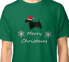 Christmas Terrier Classic T-Shirt