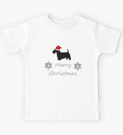 Christmas Terrier Kids Tee