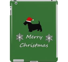 Christmas Terrier iPad Case/Skin