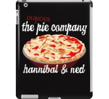 The Dubious Pie Company iPad Case/Skin