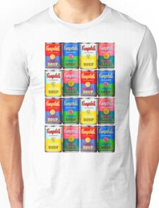 Campbells' Tomato Soup Print Unisex T-Shirt