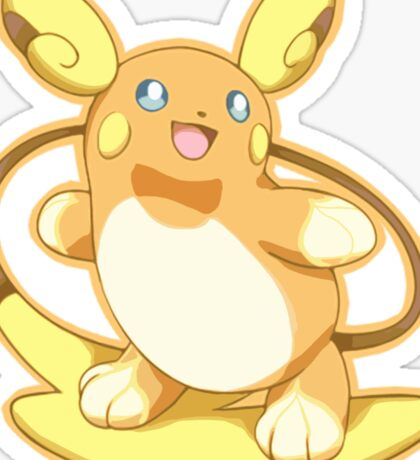 Pokemon - Alolan Raichu Sticker