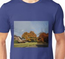 Trees in the London Temple Grounds in October Unisex T-Shirt