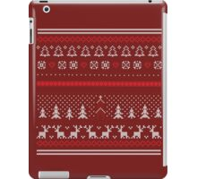 christmas holiday iPad Case/Skin