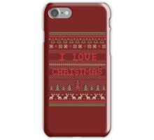 i love christmas iPhone Case/Skin