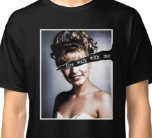 Twin Peaks - Laura Palmer - Fire Walk With Me Black ed. Classic T-Shirt