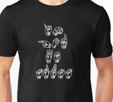 In God We Trust American Sign Language Style Funny Unisex T-Shirt