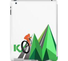 KOM Mountain iPad Case/Skin