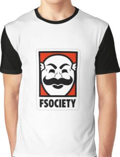 mr robot fuck society tv show anonymous t shirts Graphic T-Shirt