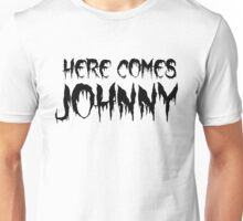 the shining horror movies halloween scary movie quotes t shirts Unisex T-Shirt