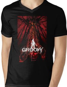 groovy time Mens V-Neck T-Shirt