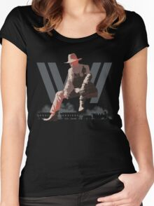 WestWorld - Man in Black Women's Fitted Scoop T-Shirt