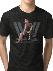 WestWorld - Man in Black Tri-blend T-Shirt
