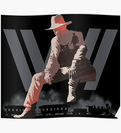 WestWorld - Man in Black Poster