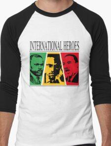 INTERNATIONAL HEROES Men's Baseball ¾ T-Shirt