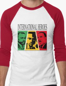 INTERNATIONAL HEROES Men's Baseball ¾ T-Shirt