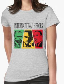 INTERNATIONAL HEROES Womens Fitted T-Shirt