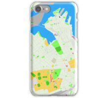 Sydney Inner West Map iPhone Case/Skin