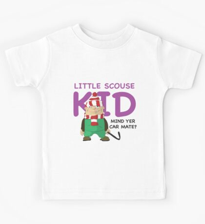 Little Scouse Kid- Mind Yer Car Mate? Kids Tee