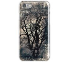 Scary tree iPhone Case/Skin