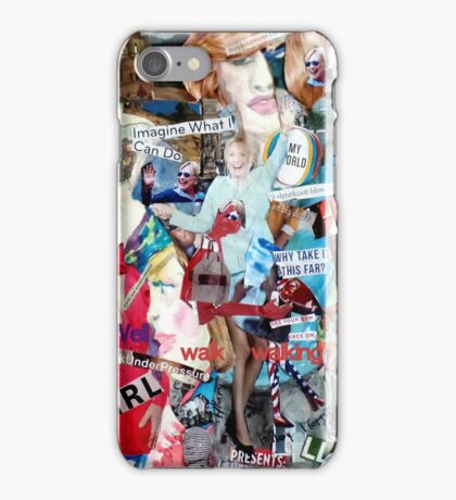 Hillary's Campaign  Poster iPhone Case/Skin