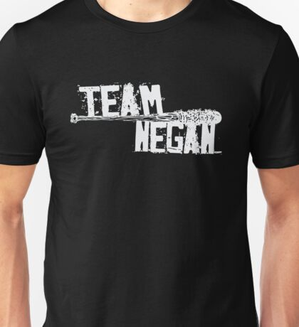 Team Negan - The Spike Bat Walking Zombie Dead  Unisex T-Shirt