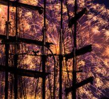 Kieler Woche Fireworks Sticker