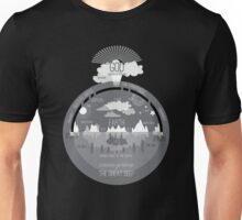 Ancient Hebrew Firmament Flat Earth Unisex T-Shirt