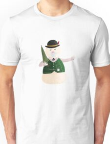 Sam the Snowman Unisex T-Shirt