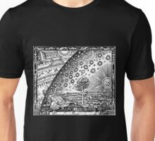 Flammarion Engraving The Sun and the Stars Unisex T-Shirt